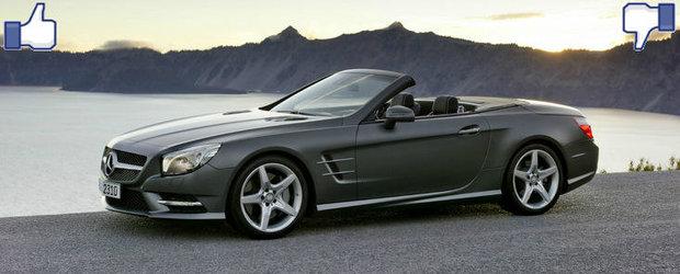 LIKE ori DISLIKE: Dezbatem in detaliu noul Mercedes SL