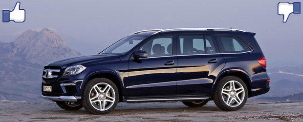LIKE ori DISLIKE: Dezbatem in detaliu noul Mercedes GL