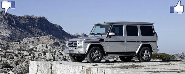 LIKE ori DISLIKE: Dezbatem in detaliu noul Mercedes G-Class