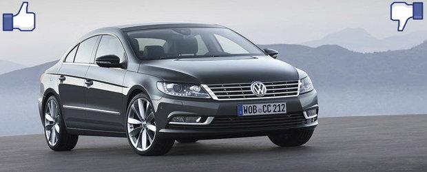 LIKE ori DISLIKE: Dezbatem in detaliu noul Volkswagen Passat CC