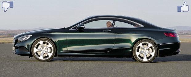LIKE ori DISLIKE: Dezbatem in detaliu noul Mercedes S-Class Coupe