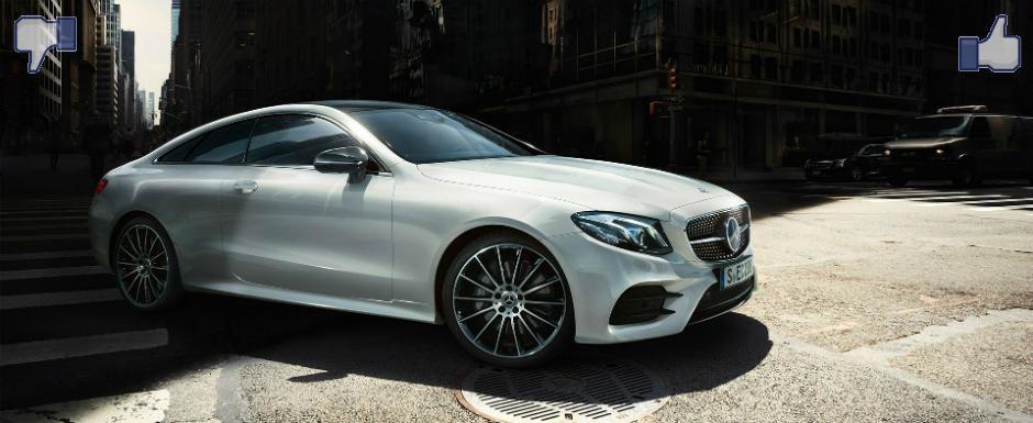 LIKE ori DISLIKE: Dezbatem in detaliu noul Mercedes E-Class Coupe