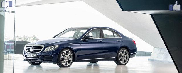 LIKE ori DISLIKE: Dezbatem in detaliu noul Mercedes C-Class