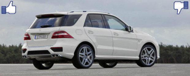 LIKE ori DISLIKE: Dezbatem in detaliu noul Mercedes ML63 AMG