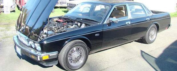 Limuzina cu bena: Iata pentru cat se vinde acest Jaguar XJ Pick-Up