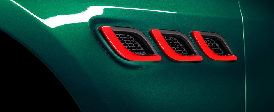 Limuzina cu motor de Ferrari. Compania producatoare a publicat acum primele imagini si detalii oficiale