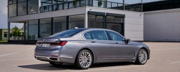 Limuzina suprema de la BMW primeste motorizari diesel noi pentru un consum si mai mic