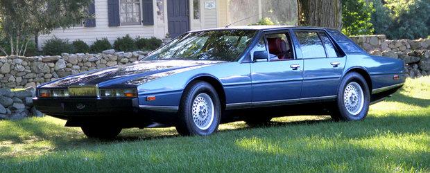 Limuzina suprema disparuta: Aston Martin Lagonda 1974-1990