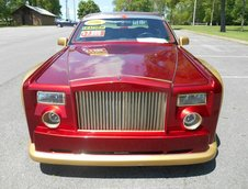 Lincoln Town Car transformat in Rolls-Royce Phantom