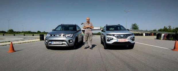 Liniuță Dacia Spring vs Suzuki Ignis. Care este mai rapid? (Video)
