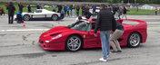 Liniute cu cele mai rare masini din lume. Participa Maserati MC12, Ferrari F50, Carrera GT si altele
