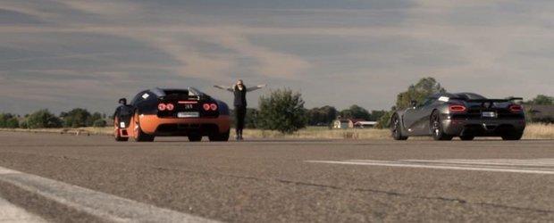 Liniute la nivel inalt: Bugatti Veyron Vitesse vs. Koenigsegg Agera R