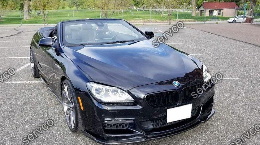 Lip buza bara fata BMW Seria 6 F06 F12 F13 Hamann 12-18 v1