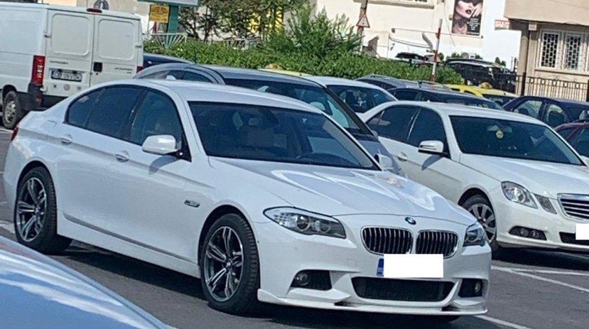 Lip buza prelungire sport bara fata BMW F10 F11 Hamann pt bara pachet M tech v2
