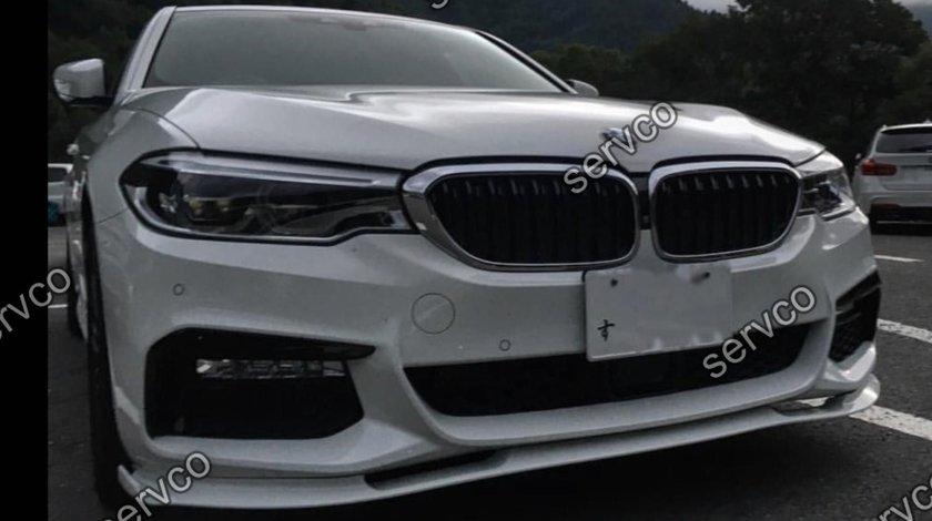 Lip Prelungire Difuzor Bara fata BMW Seria 5 G30 G31 Hamann pt M pachet 2016-2019 v1