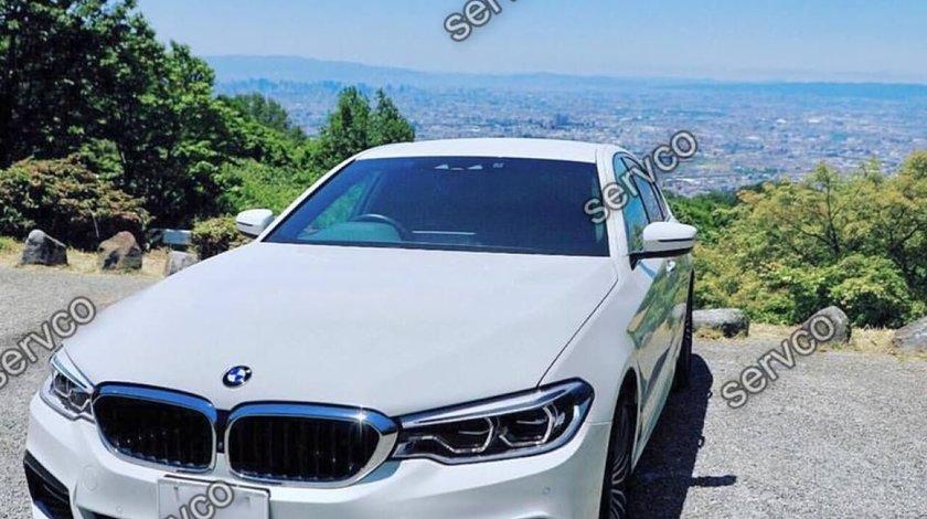 Lip splitter bara fata BMW Seria 5 G30 G31 Hamann pt M pachet 2016-2019 v1