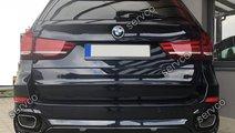 Lip tuning sport difuzor bara spate BMW X5 F15 pt ...