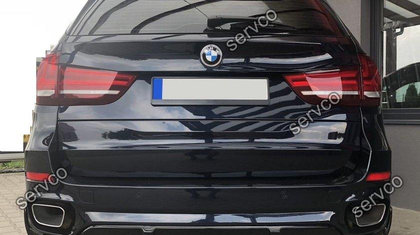 Lip tuning sport difuzor bara spate BMW X5 F15 pt M Pachet 2013-2018 v1