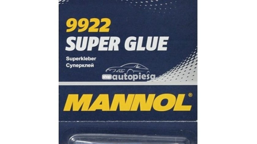 Lipici tip Super Glue MANNOL 2g (blister 6 buc) 23429 - produs NOU
