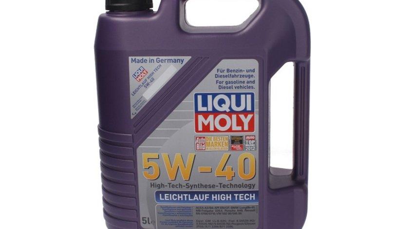 Liqui moly ulei motor 5w40 5l leichtlauh high tech