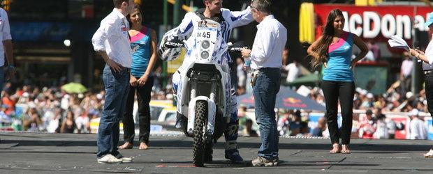 Locul 22 pentru Mani Gyenes in prima proba din Dakar 2011