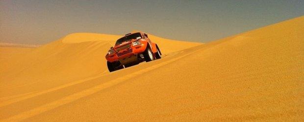 Locul 5 dupa patru zile in desertul egiptean pentru echipa romaneasca