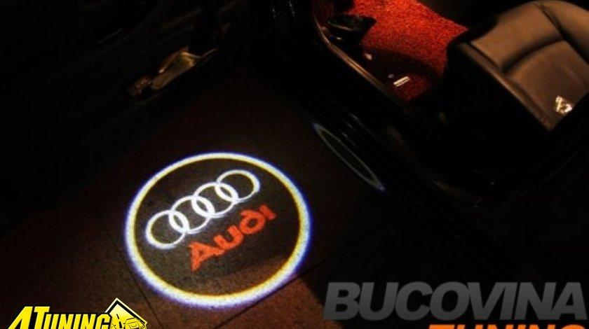 LOGO CU LED AUDI - 79 LEI
