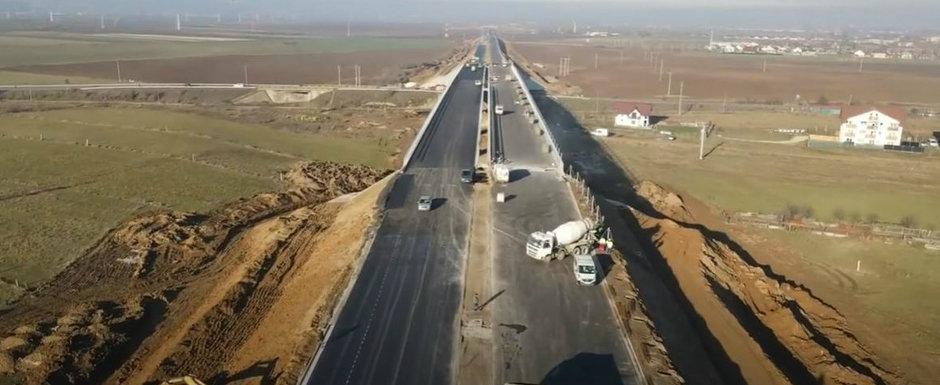 Lotul Rasnov - Cristian din cadrul autostrazii A3 Bucuresti - Brasov a fost inaugurat
