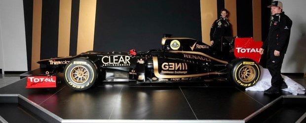 Lotus a lansat noul monopost de Formula 1