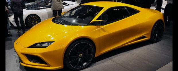 Lotus Elan Concept anunta un rival pentru Porsche 911!