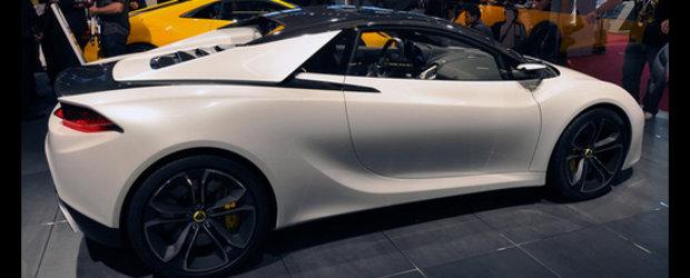 Lotus Elise Concept reprezinta evolutia masinilor sport!