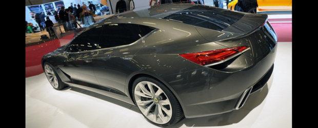 Lotus Eterne - Atac la Aston Martin Rapide si Porsche Panamera!