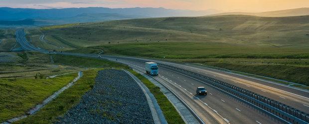 Lucrarile la primul santier al autostrazii Sibiu - Pitesti merg ca unse. In prima luna a fost realizat 8% din proiect