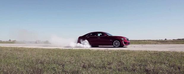 Lucruri pe care le poti face la volanul si pedalele unui Cadillac de 750 CP