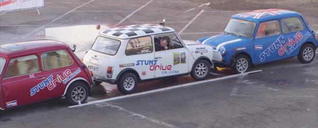 Lumea are un nou record pentru cea mai ingusta parcare laterala facuta in marsarier