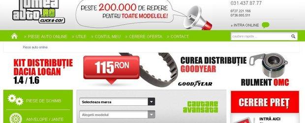 Lumea-Auto.ro, furnizor de nota 10 pentru piese si servicii auto in Romania!