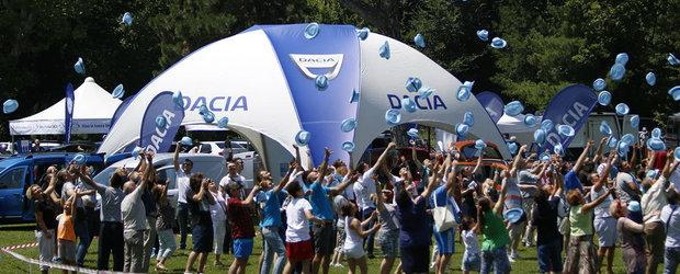 'Lumea Dacia', primul picnic dedicat posesorilor de automobile Dacia din Romania