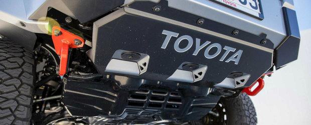 Lumea s-ar inghesui sa o cumpere dar nu oricine o poate avea. Ea este noua Toyota Hilux Mako