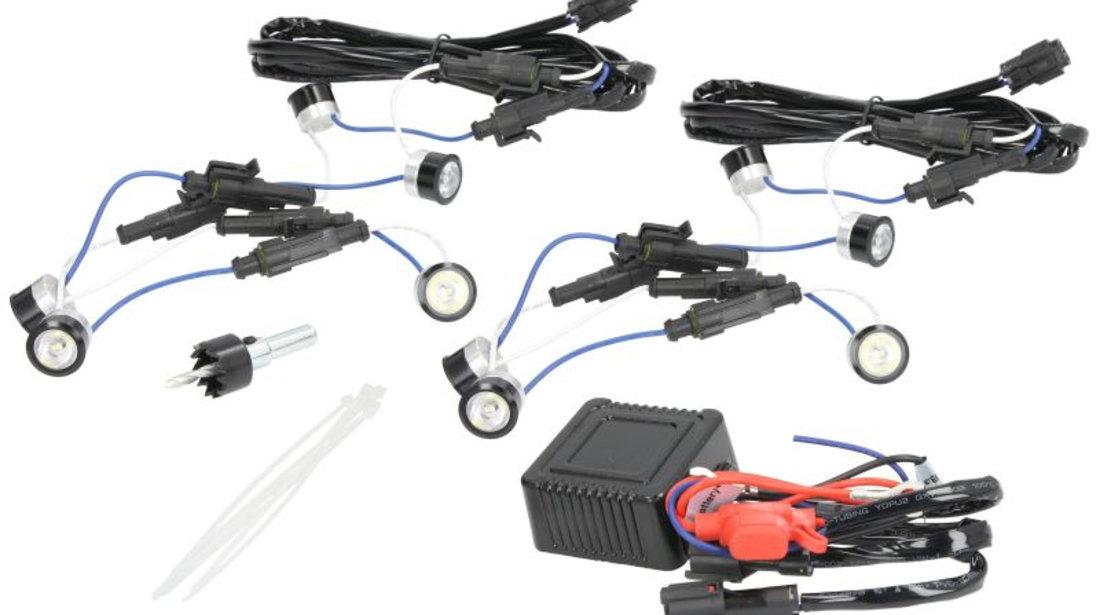 Lumini de zi 12V LED DAYLIGHT 20mm,