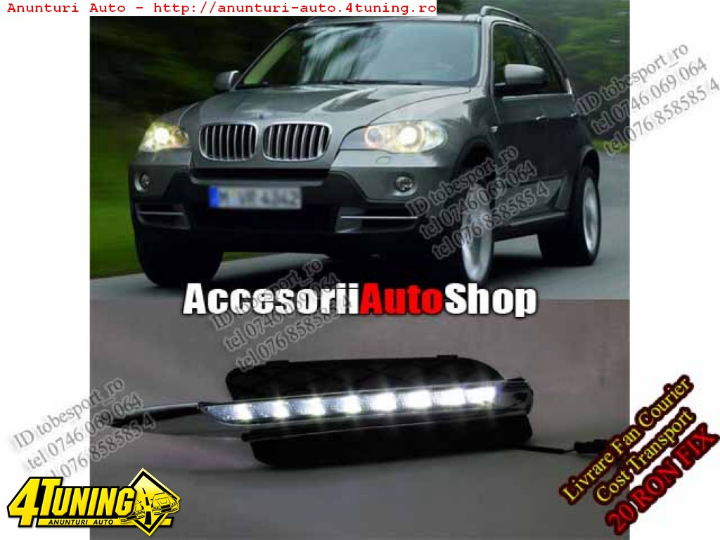 Lumini de zi BMW X5 E70
