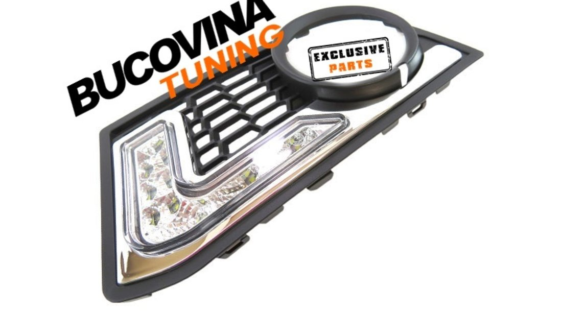 LUMINI DE ZI CU LED BMW SERIA 5 F10 M TECH 149 EURO