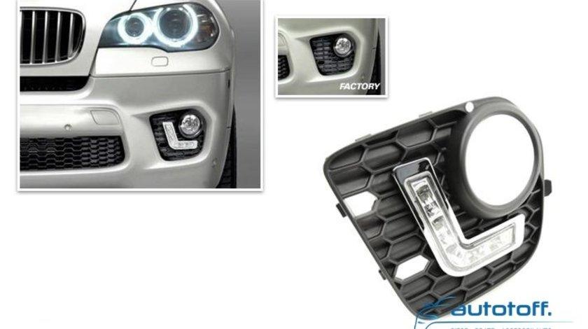 Lumini de zi cu LED BMW X5 E70 (2008-2011)
