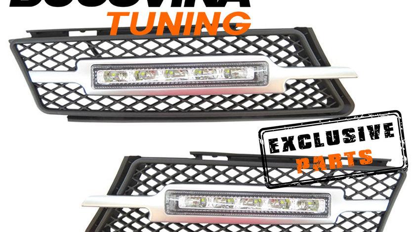 LUMINI DE ZI CU LED DEDICATE BMW SERIA 3 E90/ E91 (05-08)