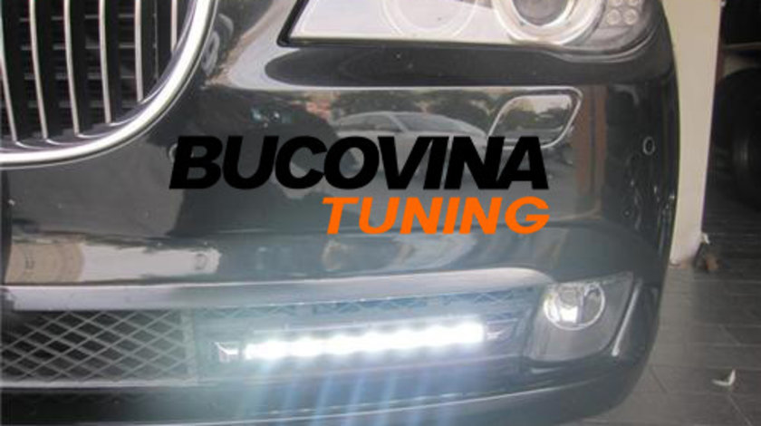 Lumini de zi cu LED dedicate BMW Seria 7 F01/ F02 (08-15)