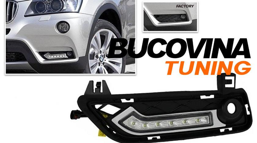 Lumini de zi cu LED dedicate BMW X3 F25 (11-14)