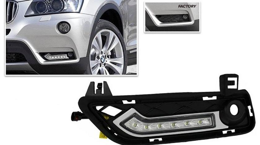 Lumini de zi cu LED dedicate BMW X3 F25