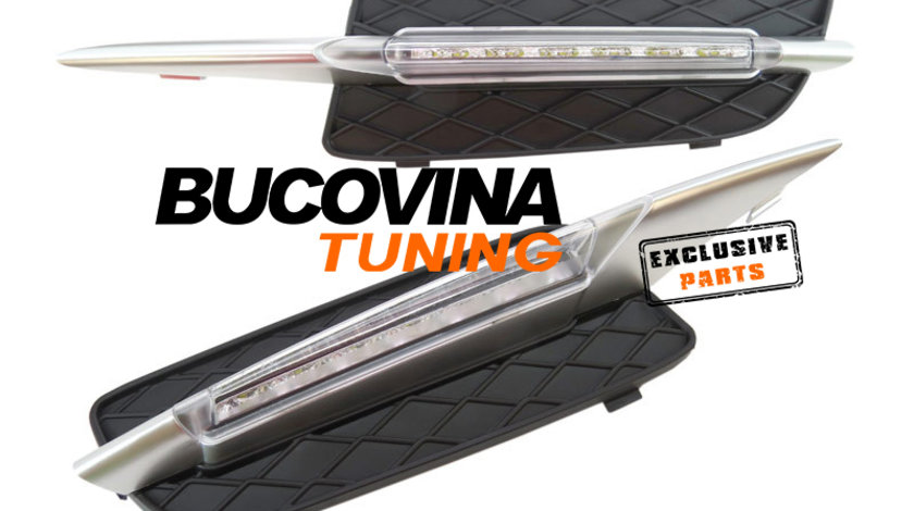 LUMINI DE ZI CU LED DEDICATE BMW X5 E70 (07-10)