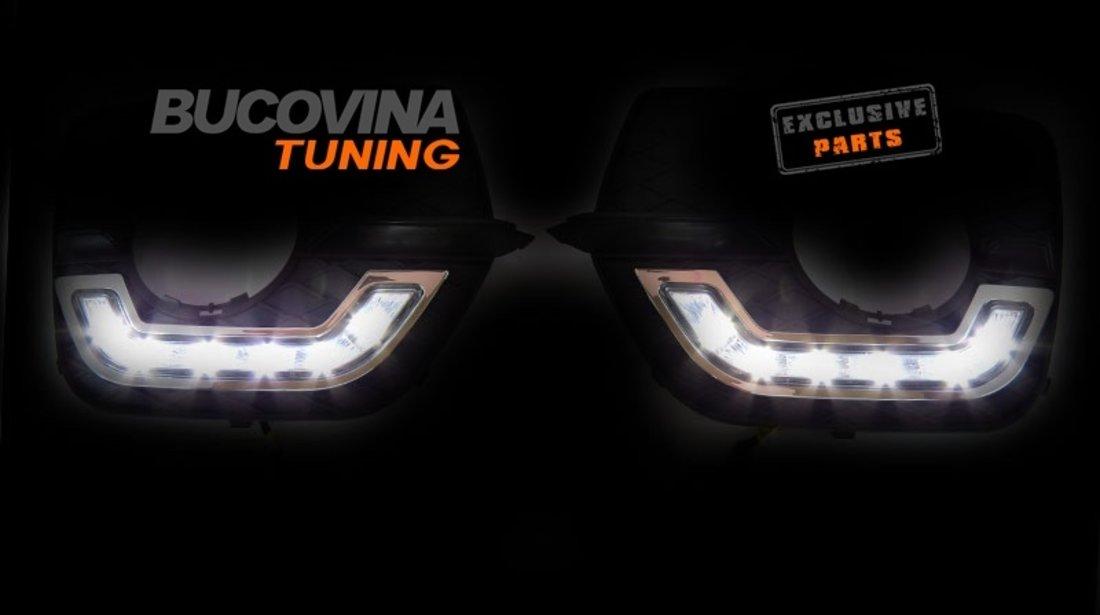 Lumini de zi cu LED dedicate BMW X6 E71 (08-15)