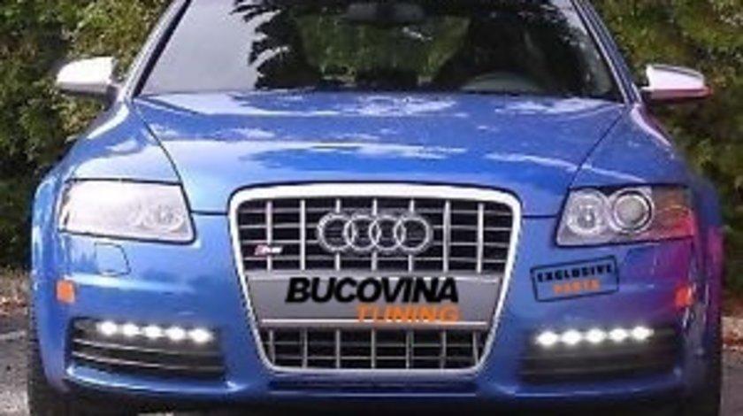 LUMINI DE ZI CU LED PENTRU AUDI A6 S6 4F - OFERTA - PRODUS OEM !!