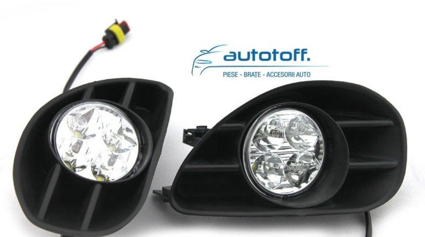 Lumini de zi cu LED Toyota Yaris (2005-2009)